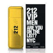 "11602 ""212 VIP MEN GOLD"" CAROLINA HERRERA, 100ML, EDT"