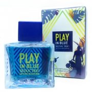 102811К Antonio Banderas Play Seduction In Blue 100ml